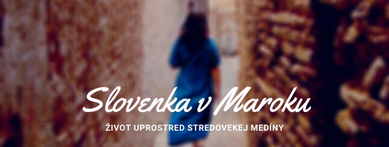 Slovenka v Maroku